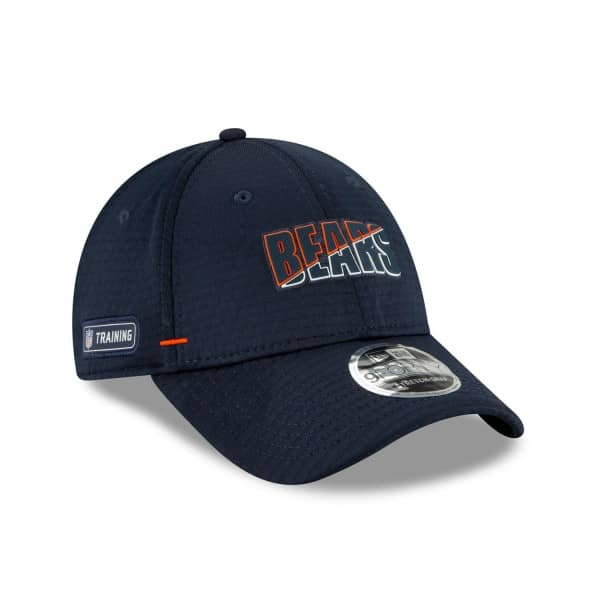 """Chicago Bears """"B"""" 2020 Summer Sideline New Era Stretch-Snap 9FORTY NFL Cap"""
