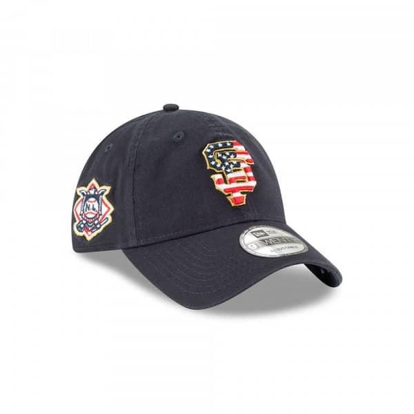 d6a9d9ec58e678 New Era San Francisco Giants 4th of July 2018 9TWENTY Adjustable MLB Cap    TAASS.com Fan Shop