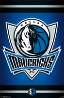 Dallas Mavericks Team Logo NBA Poster