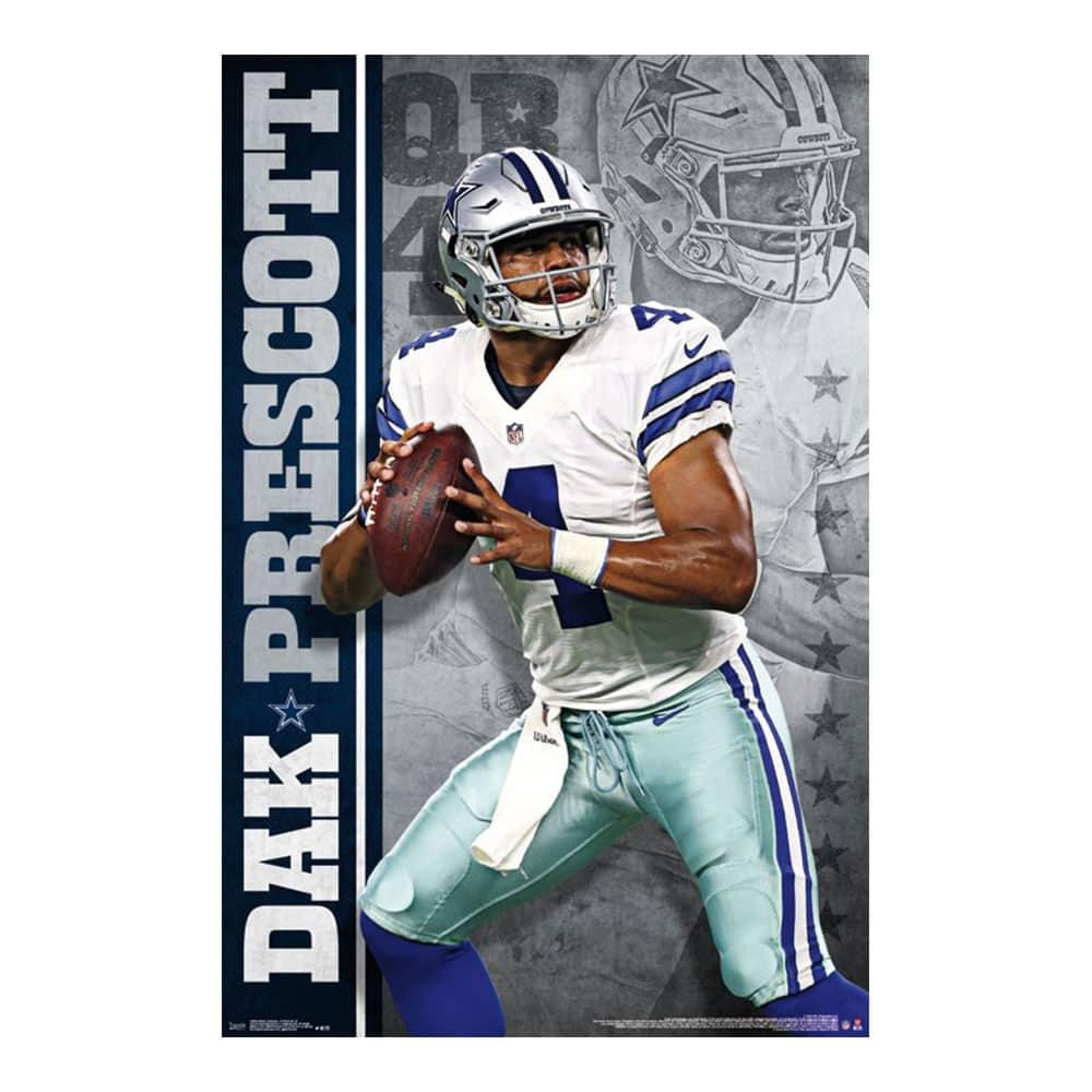 Dallas Cowboys Dak Prescott Superstar NFL Poster RP13939  83dbf06d2
