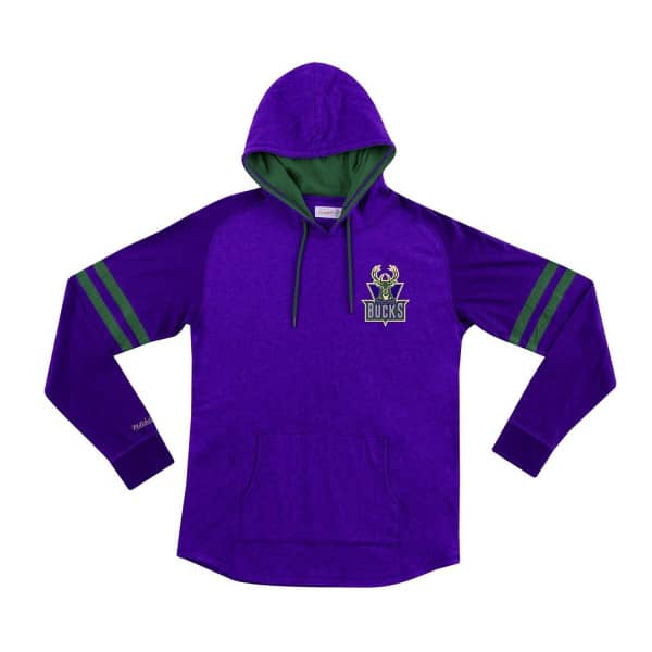 Milwaukee Bucks Lightweight 2.0 Mitchell & Ness Pullover NBA Hoodie
