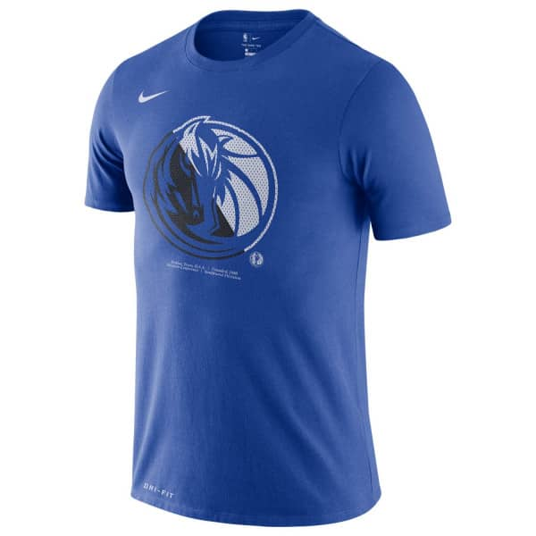 Dallas Mavericks Bold Logo Dri-FIT NBA T-Shirt
