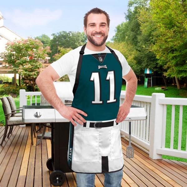Carson Wentz #11 Philadelphia Eagles NFL Spielerschürze