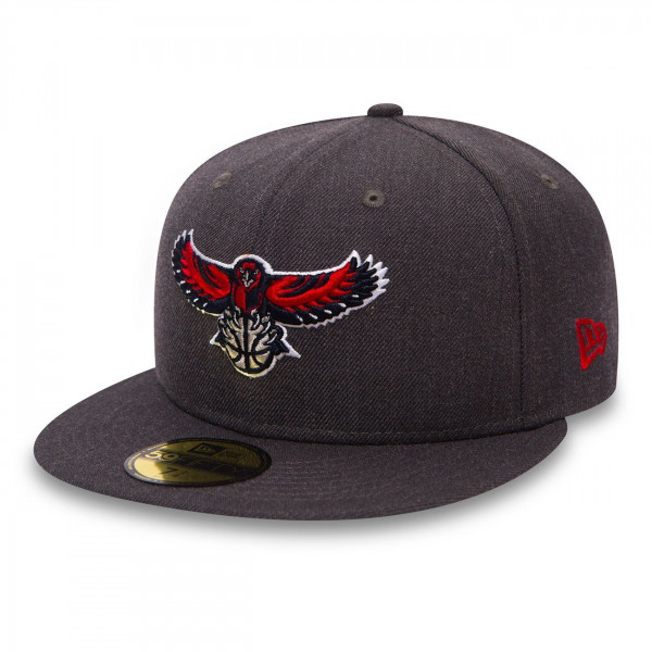 Atlanta Hawks Heather 59FIFTY Fitted NBA Cap