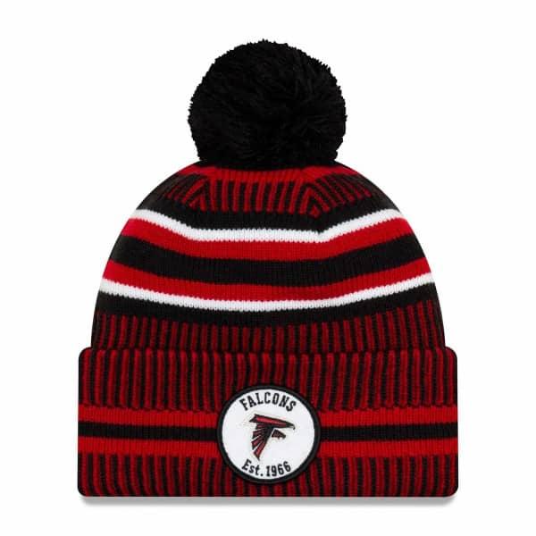 Atlanta Falcons 2019 NFL Sideline Sport Knit Wintermütze Home