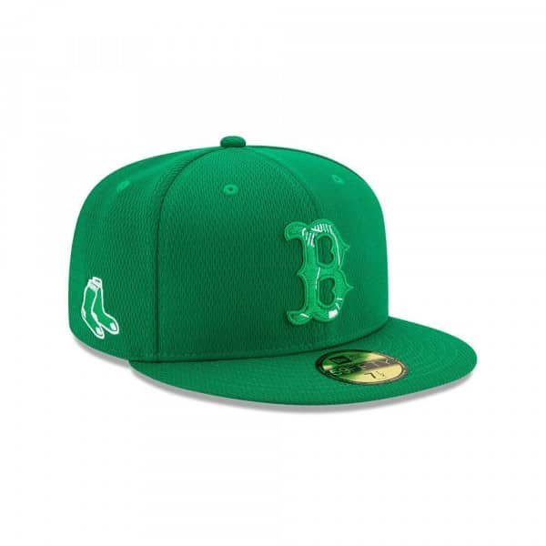 Boston Red Sox 2021 Authentic St. Patrick's Day 59FIFTY Fitted MLB Cap