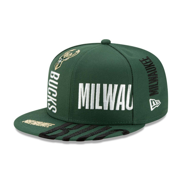 Milwaukee Bucks 2019-20 NBA Tip Off Series 9FIFTY Snapback Cap