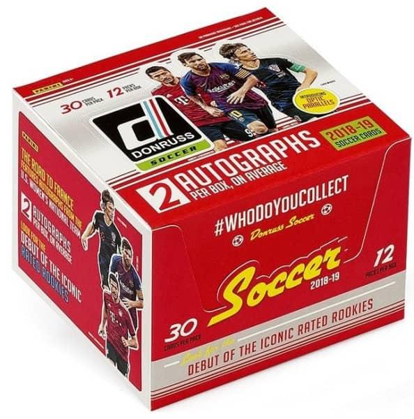 2018/19 Panini Donruss Soccer (Fussball) Hobby Box