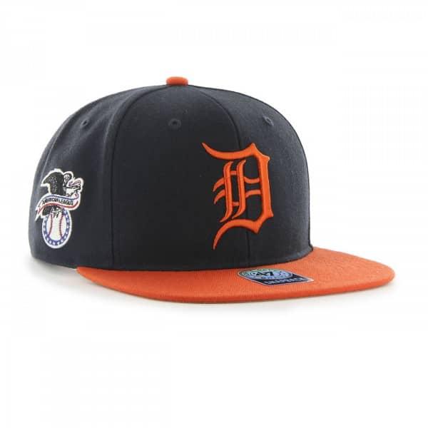 Detroit Tigers 2-Tone Sure Shot Snapback MLB Cap Road