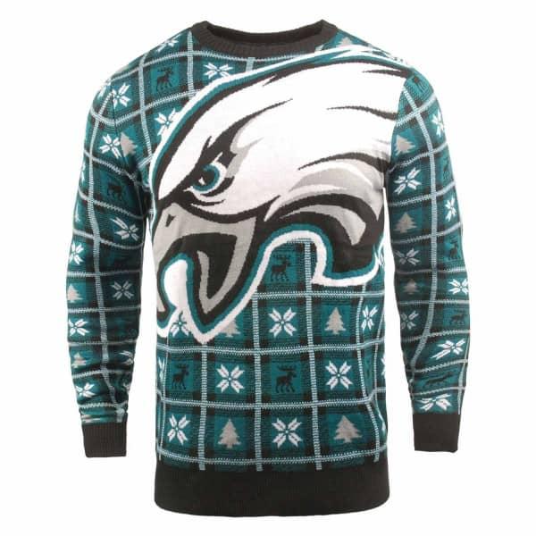 Philadelphia Eagles Big Logo NFL Ugly Holiday Sweater