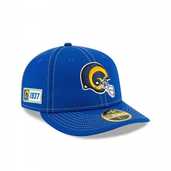 Los Angeles Rams Classic 2019 NFL On-Field Sideline Low Profile 59FIFTY Cap Road