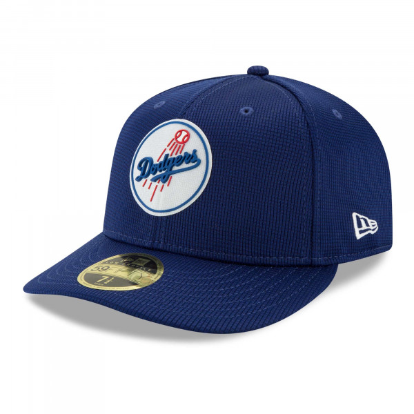 Los Angeles Dodgers 2021 MLB Authentic Clubhouse New Era Low Profile 59FIFTY Cap