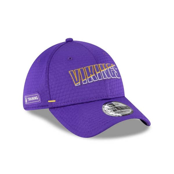 Minnesota Vikings 2020 Summer Sideline New Era 39THIRTY Flex Fit NFL Cap