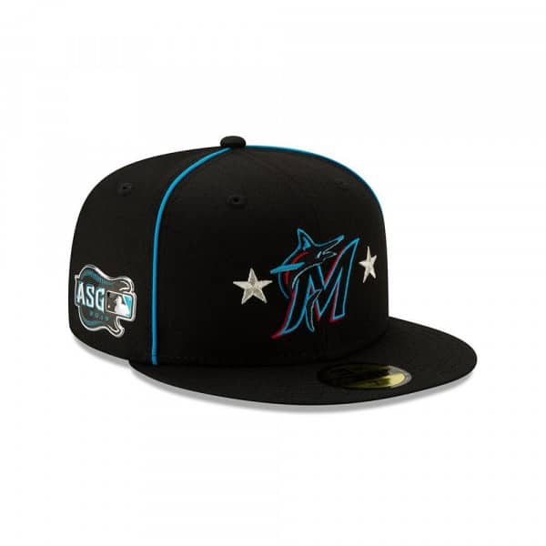 Miami Marlins 2019 All Star Game 59FIFTY Fitted MLB Cap