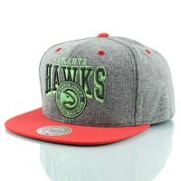 Atlanta Hawks Neon Arch Snapback NBA Cap