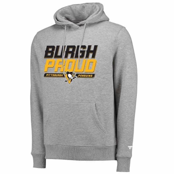 Pittsburgh Penguins Burgh Proud Hometown NHL Hoodie