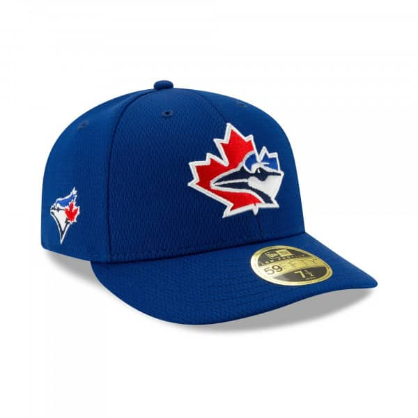 Toronto Blue Jays 2021 MLB Authentic Batting Practice Low Profile 59FIFTY Fitted Cap
