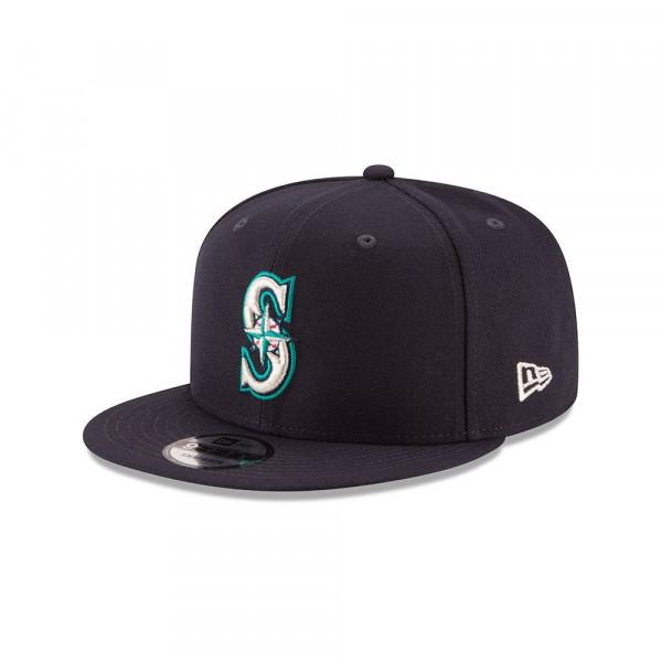 Seattle Mariners Basic Logo MLB Snapback Cap