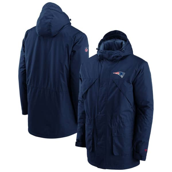 New England Patriots Fanatics Iconic BTB Heavyweight NFL Winterjacke