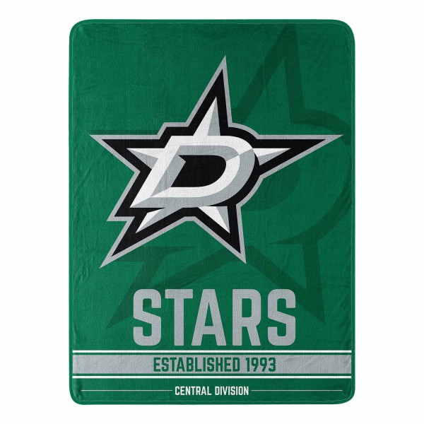 Dallas Stars Breakaway Northwest Super Plush NHL Decke
