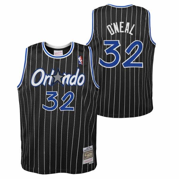 Shaq O'Neal #32 Orlando Magic 1994-95 Youth Swingman NBA Trikot Schwarz (KINDER)