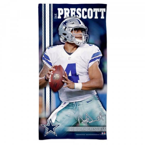 Dak Prescott Dallas Cowboys NFL Strandtuch
