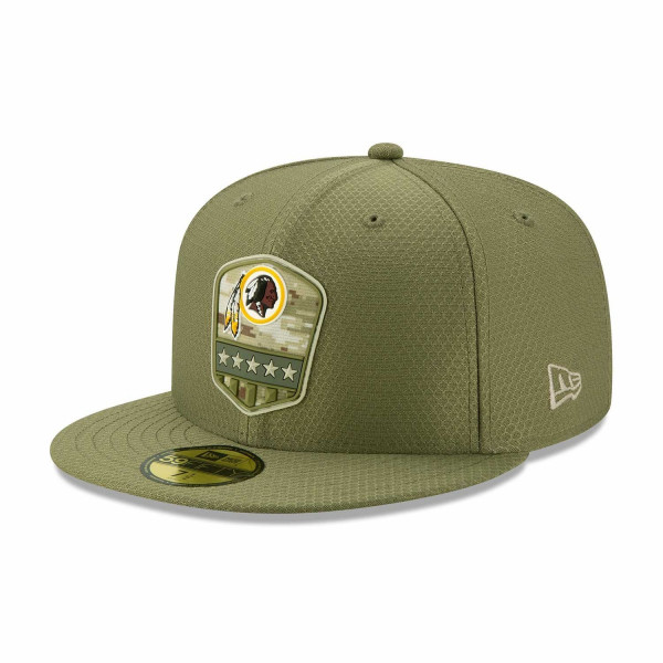 Washington Redskins 2019 On-Field Salute to Service 59FIFTY NFL Cap