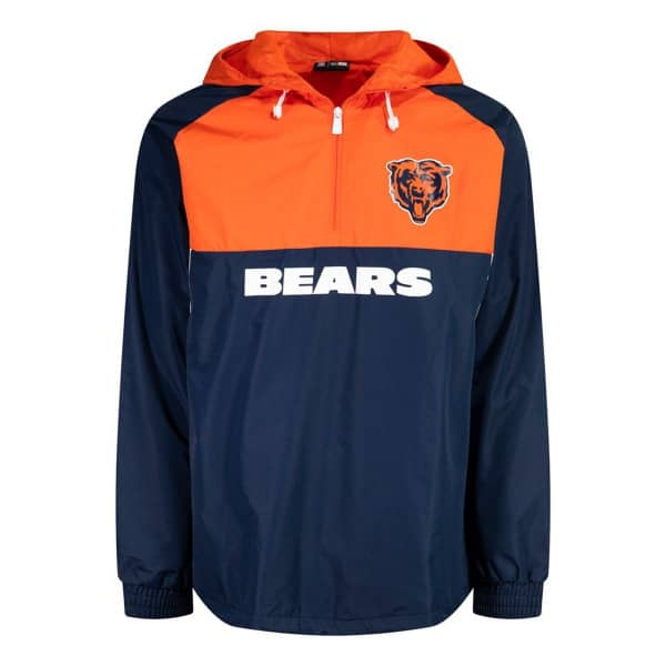 Chicago Bears 2019 Color Block NFL Windbreaker Jacke