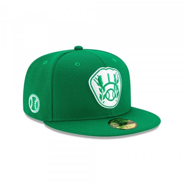 Milwaukee Brewers 2020 Authentic St. Patrick's Day 59FIFTY Fitted MLB Cap