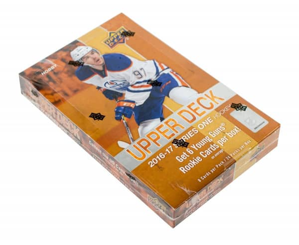 2016/17 Upper Deck Series 1 Hockey Hobby Box NHL