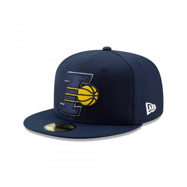 Indiana Pacers 2019 NBA Back Half 59FIFTY Fitted Cap