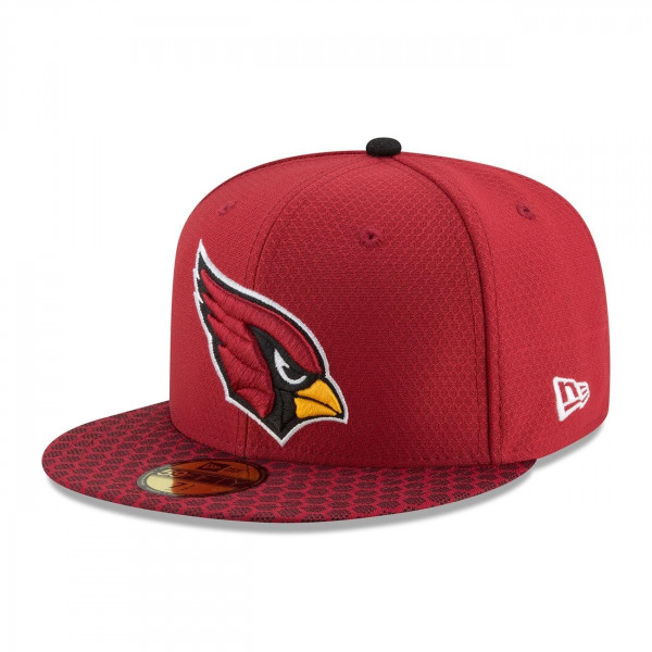 New Era Arizona Cardinals 2017 Sideline ON-FIELD NFL 59FIFTY Fitted Cap  c246858d9324