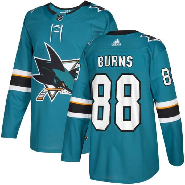 Brent Burns #88 San Jose Sharks Authentic Pro NHL Trikot Home