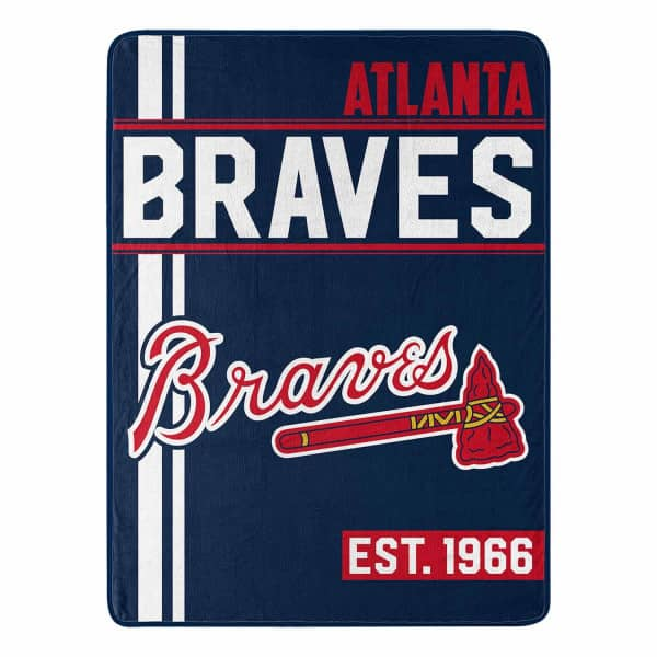 Atlanta Braves Walk Off Plush MLB Decke