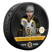 Ray Bourque Boston Bruins Alumni NHL Puck
