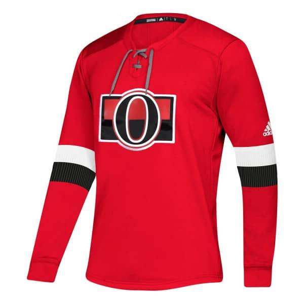 Ottawa Senators NHL Platinum Long Sleeve Trikot
