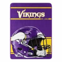 Minnesota Vikings Run Super Plush NFL Decke