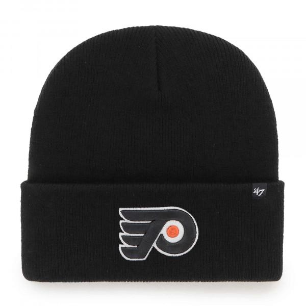 Philadelphia Flyers '47 Haymaker NHL Beanie Wintermütze Schwarz