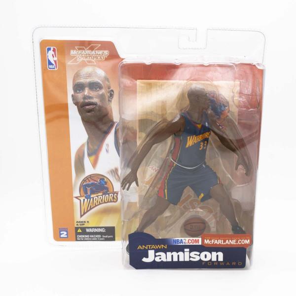 NBA Series 2 Antawn Jamison Golden State Warriors Navy Jersey Variant