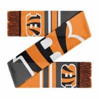 Cincinnati Bengals Colorblock Big Logo NFL Schal
