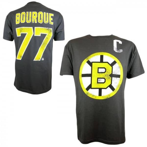 Boston Bruins Ray Bourque #77 Alumni Eishockey NHL T-Shirt