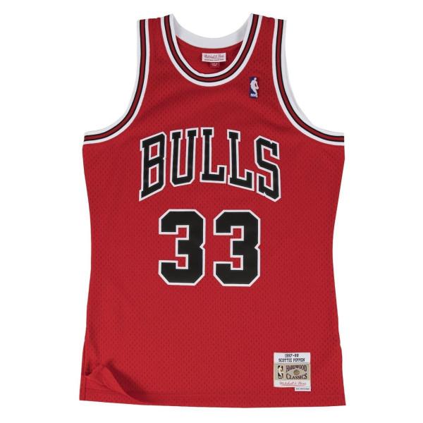 Scottie Pippen #33 Chicago Bulls 1997-98 Swingman NBA Trikot