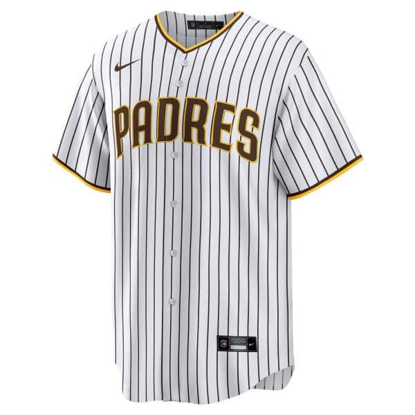 San Diego Padres Nike MLB Replica Home Trikot Weiß