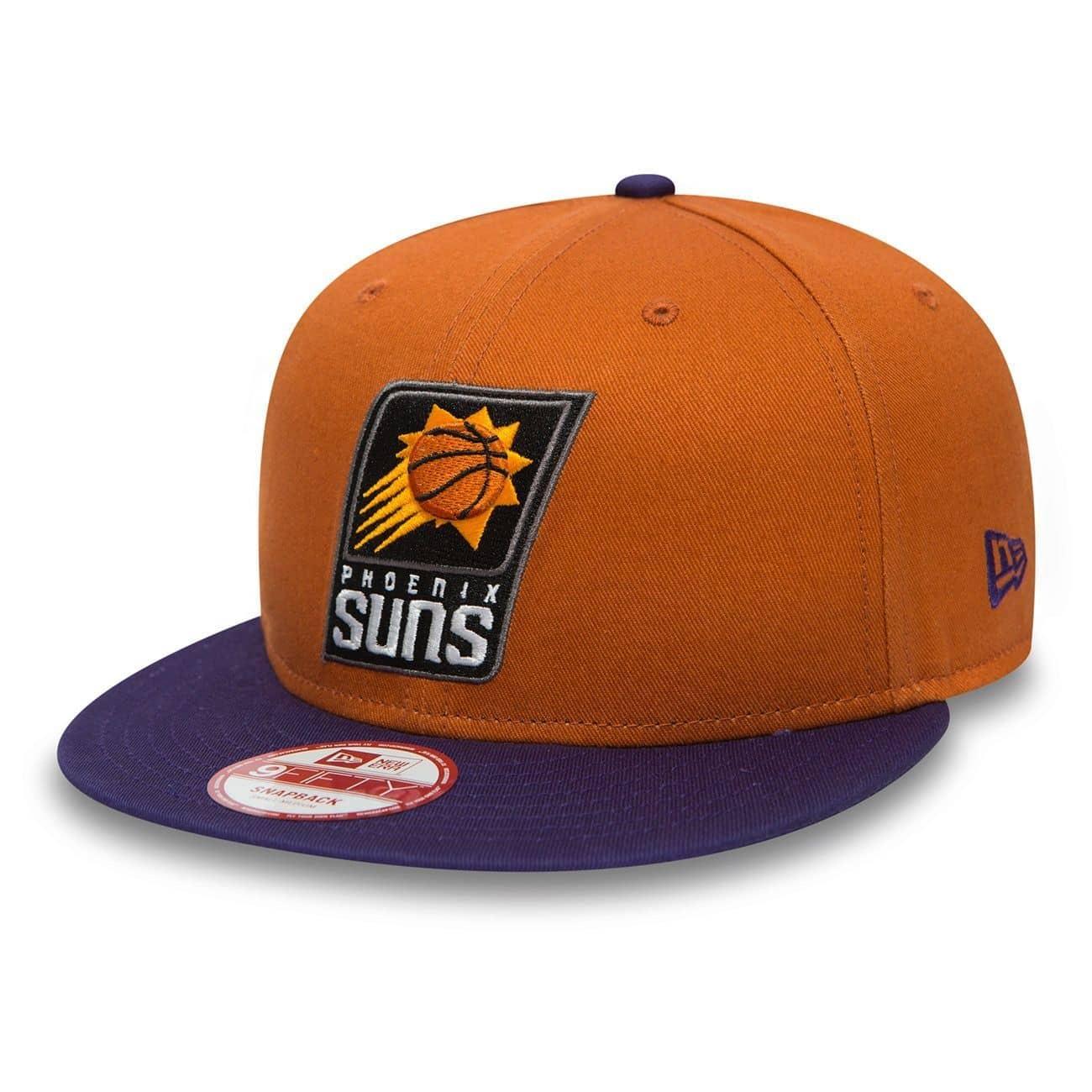 size 40 864a0 ddf8b New Era Phoenix Suns 2-Tone Team 9FIFTY Snapback NBA Cap M L   TAASS.com  Fan Shop