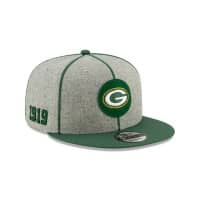 Green Bay Packers 2019 NFL On-Field Sideline 9FIFTY Snapback Cap Home