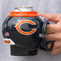 Chicago Bears NFL FanMug Helm-Becher