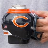 Chicago Bears NFL FanMug Helm-Becher
