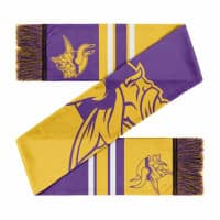 Minnesota Vikings Colorblock Big Logo NFL Schal