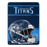 Tennessee Titans Run Super Plush NFL Decke