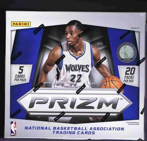 2014/15 Panini Prizm Basketball Hobby Box NBA